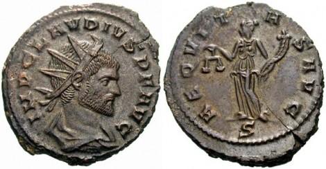 novac Klaudija II
